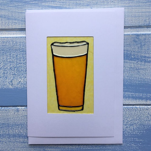 Handmade Card. Pint. 20
