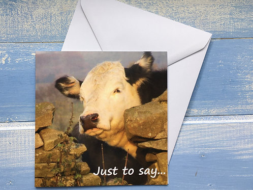 Greeting Card, Just Too Say . 58