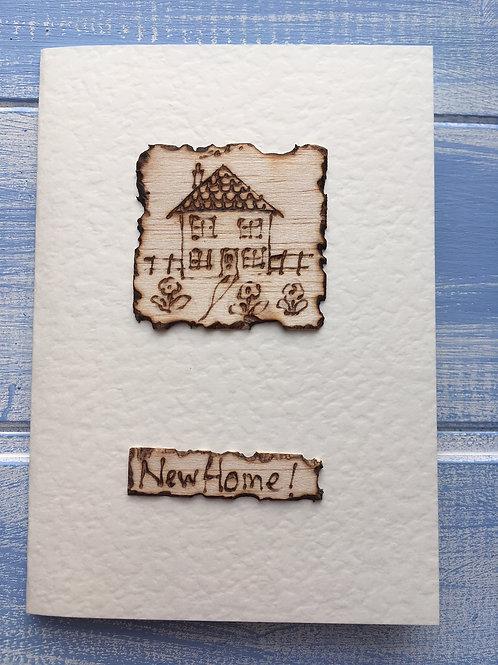 Handmade Card. 'New Home!' 27