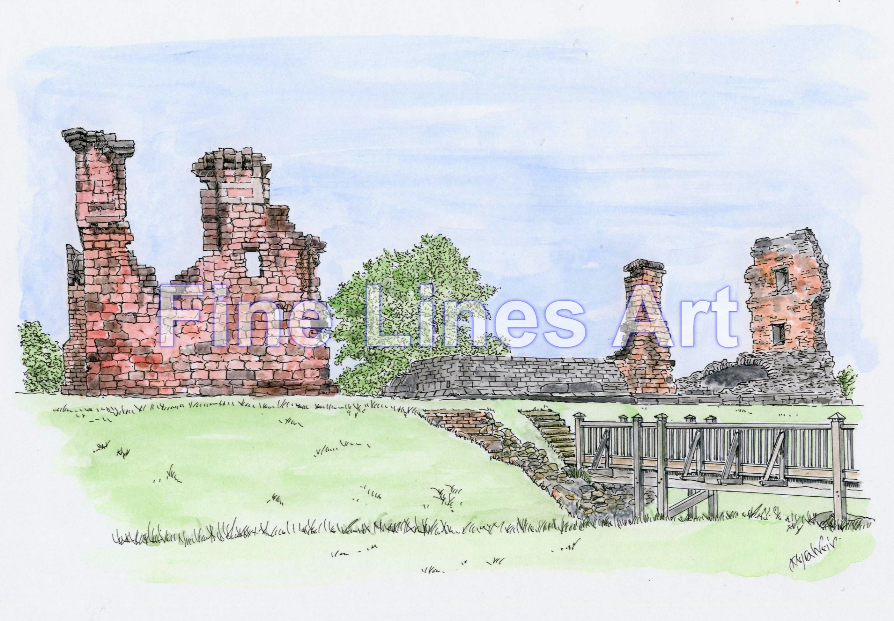 Penrith Castle, Penrith,Cumbria UK