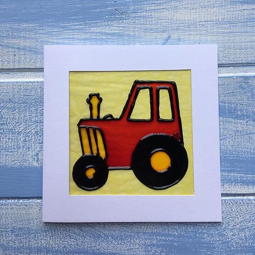 Handmade Card.Tractor. 18