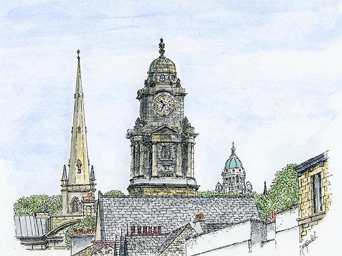 View along Common Garden Street