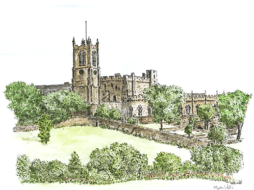 Priory and Castle