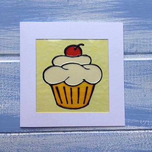 Handmade Card. Cupcake. 21