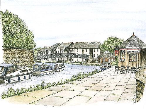 Lancaster Canal Aldcliffe Road