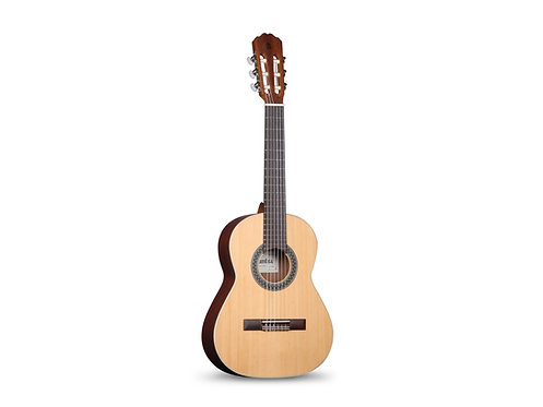 ALHAMBRA 1 OP - Klassik-Gitarre 1/2 544 mm Zeder massiv - Mahagoni, Satin Finish
