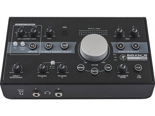 MACKIE Big Knob Studio - Monitor Controller / Interface