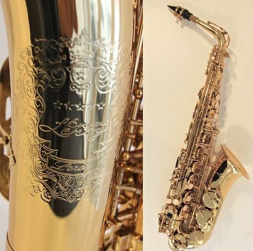 Saxophone Alto High Grade Pisoni + Soft Case B.LEROY
