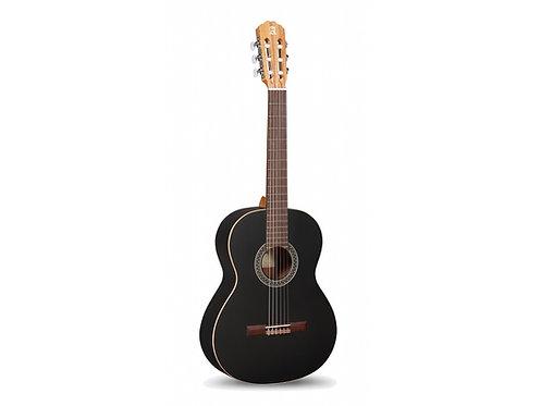 ALHAMBRA 1C - Klassik-Gitarre 650 mm, schwarz matt Zeder massiv - Mahagoni
