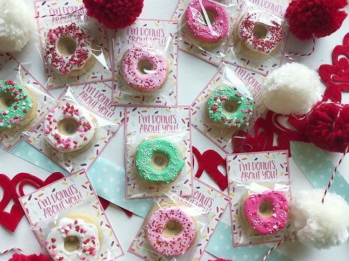 Donuts Mini Card