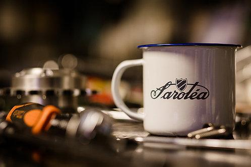 Classic Sarolea Enamel Mugs
