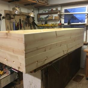 Homemade casket
