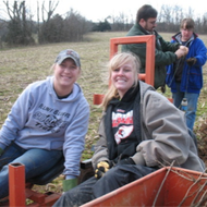 In 2012, students from Southern Illinois University Edwardsville helped plant over 15,000 trees during spring break.