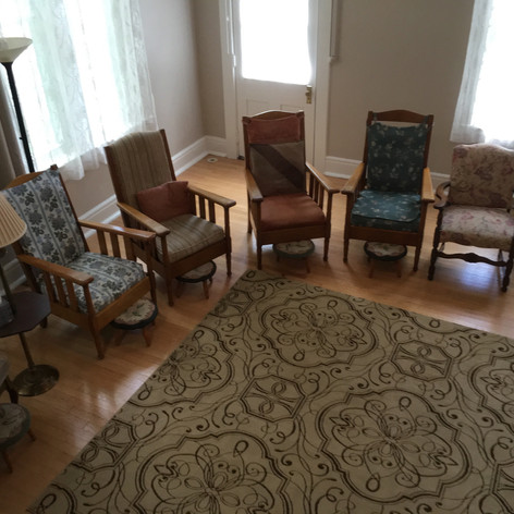 Knobs Haven gathering room