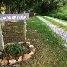 Entrance to Cedars