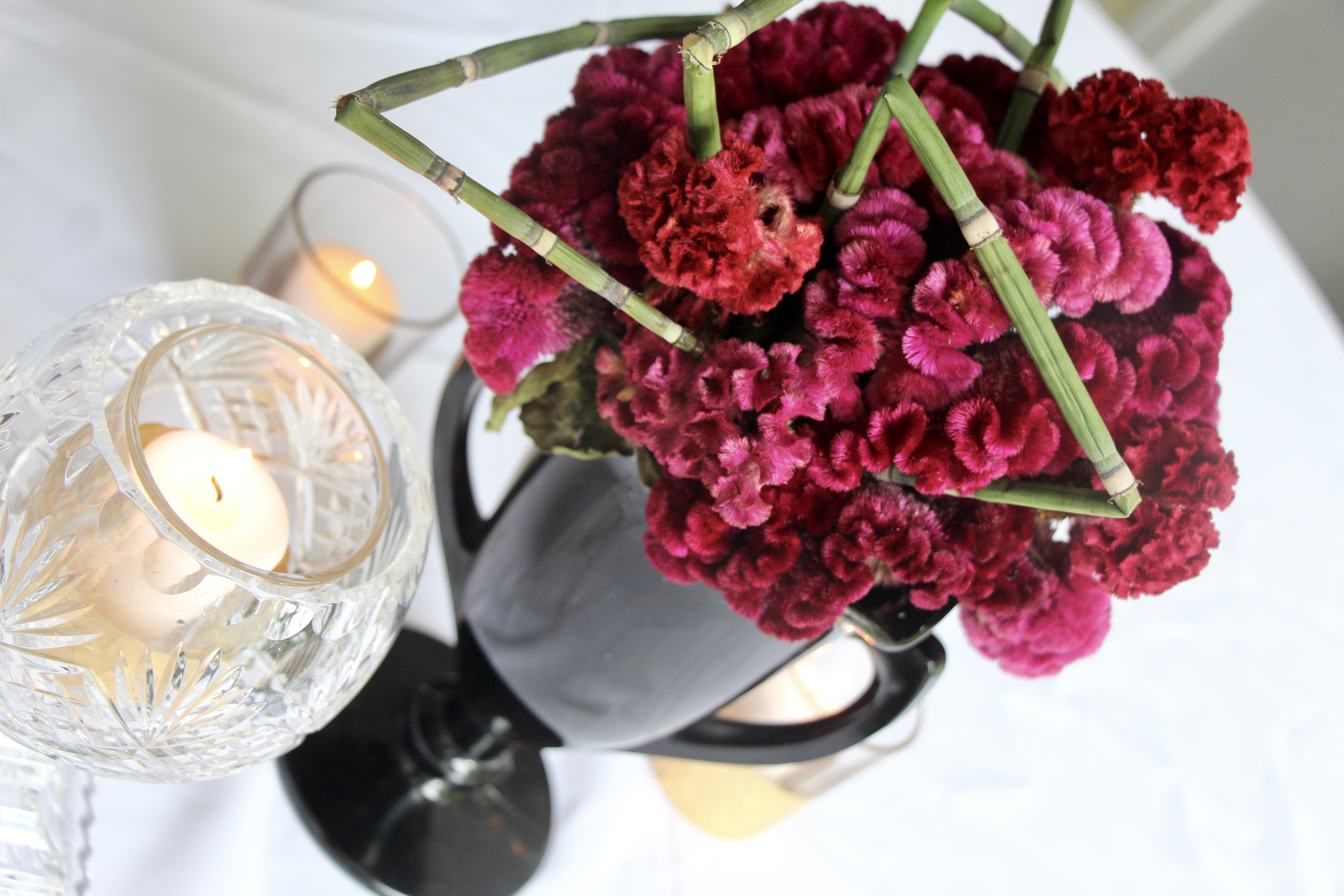 Dinner party florals