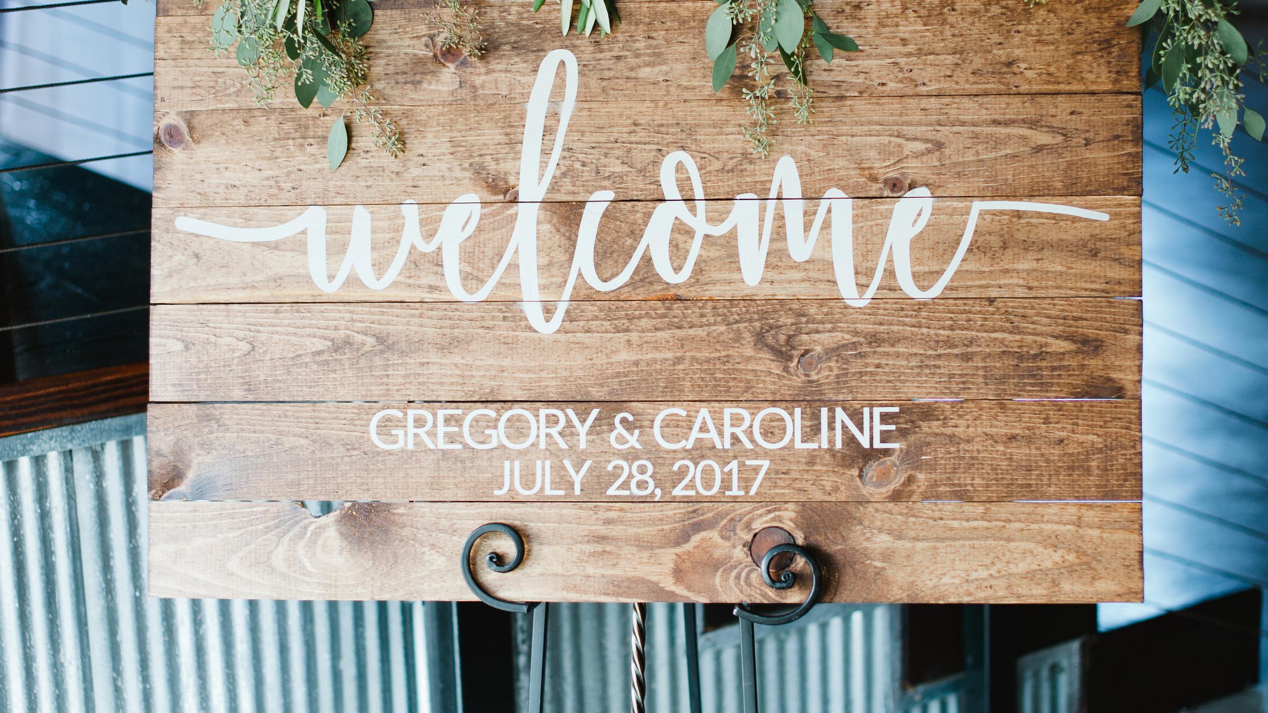 Caroline and Greg married-0033