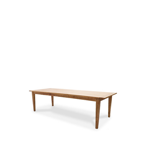 Basque Elm Dining Table - 260cm