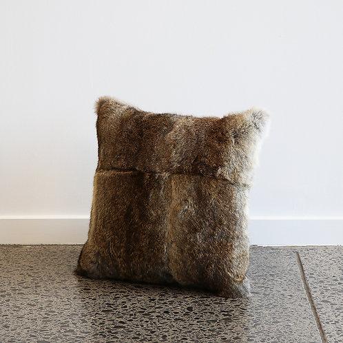 Arctic Rabbit Cushion - Full Skin Natural