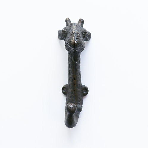 Zoo Hook - Bronze Giraffe