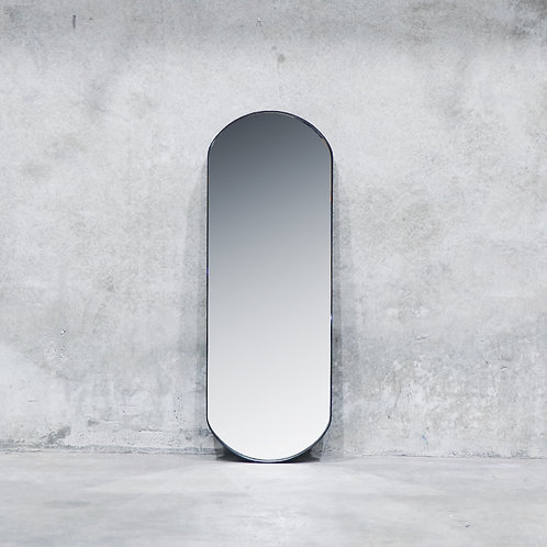 Pablo Nickel Mirror - 140cm - Oval