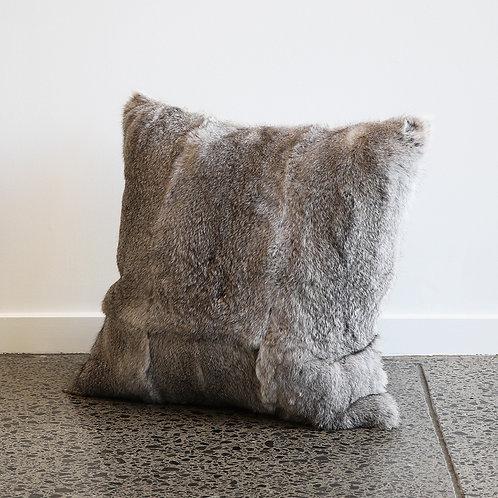 Arctic Rabbit Cushion - Full Skin Gre