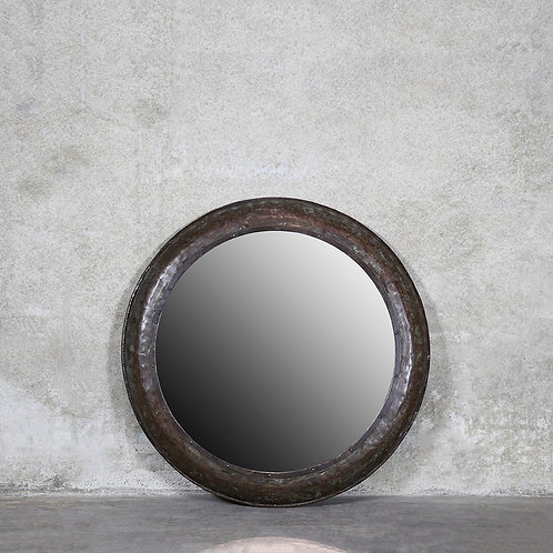 Torlouse Round Iron Mirror - 112cm