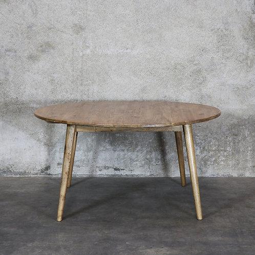 Vaasa Round Oak Table - 150cm