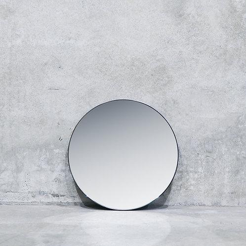 Pablo Nickel Mirror - 80cm - Round