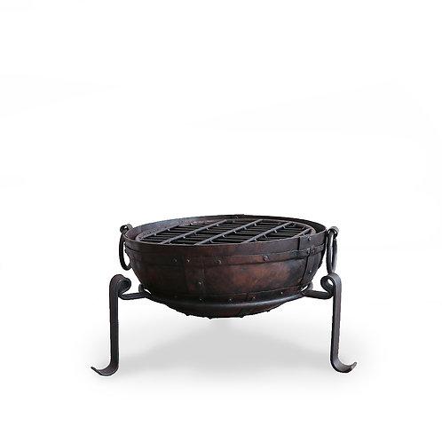Iron Sahar Fire Bowl Set - 40cm