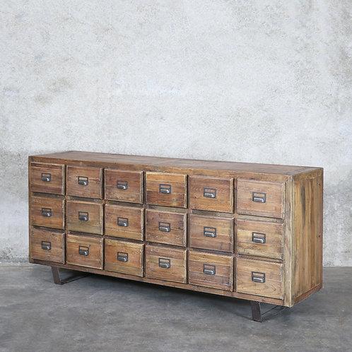 Cuba Pine Sideboard - 18 Drawer