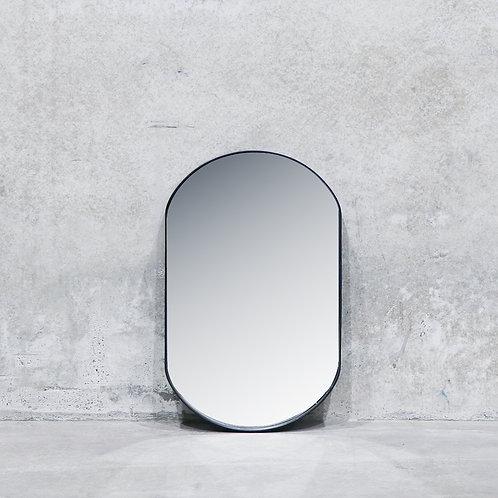 Pablo Nickel Mirror - 80cm - Oval