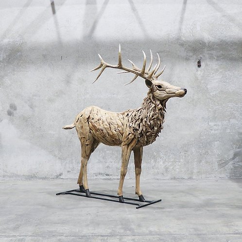 Driftwood Red Deer