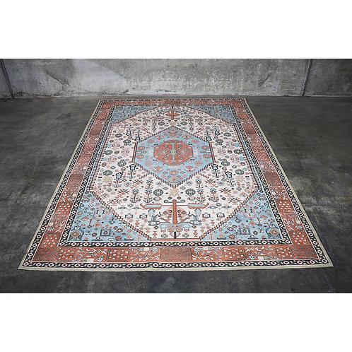 Turkish style, vintage finished rug