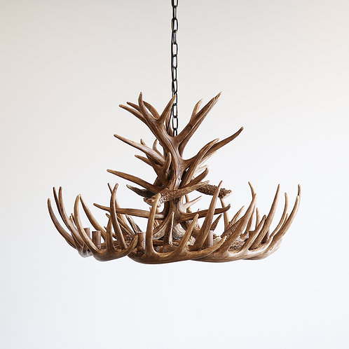 Resin Antler Chandelier - 75cmd