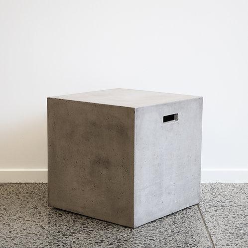 Concrete Cube Stool - 45cm