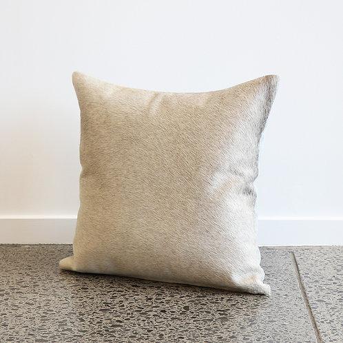 Brazilian Cowhide Cushion - Grey