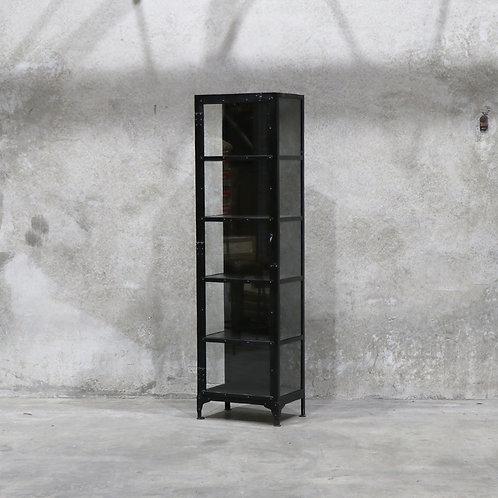 Bank Black Display Cabinet