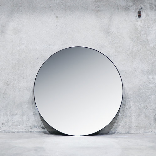 Pablo Nickel Mirror - 120cm - Round