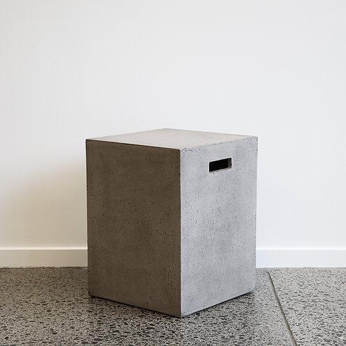 Concrete Rectangle Stool - 46cm