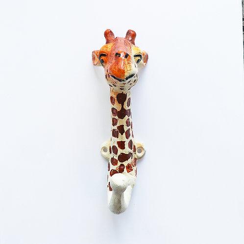 Zoo Hook - Hand-painted Giraffe