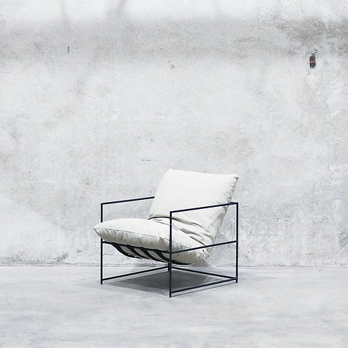 Lauro Club Chair - Cement