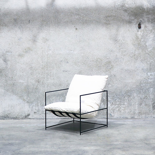 Lauro Club Chair - White