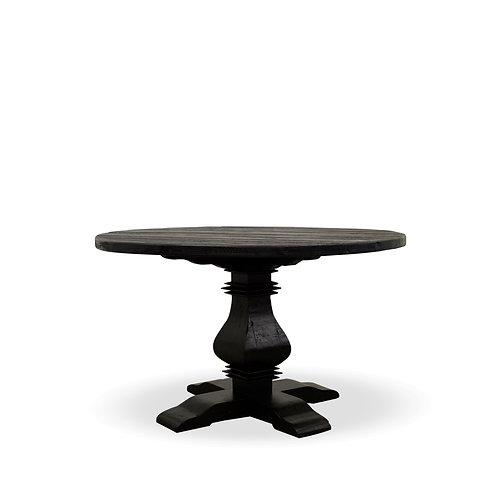 Mulhouse Round Dining Table - Black