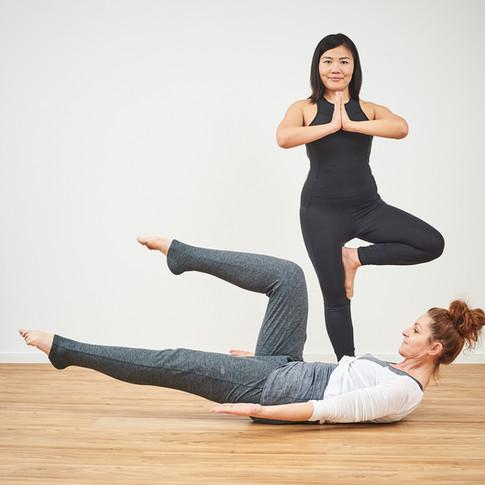 Yoga meets Pilates