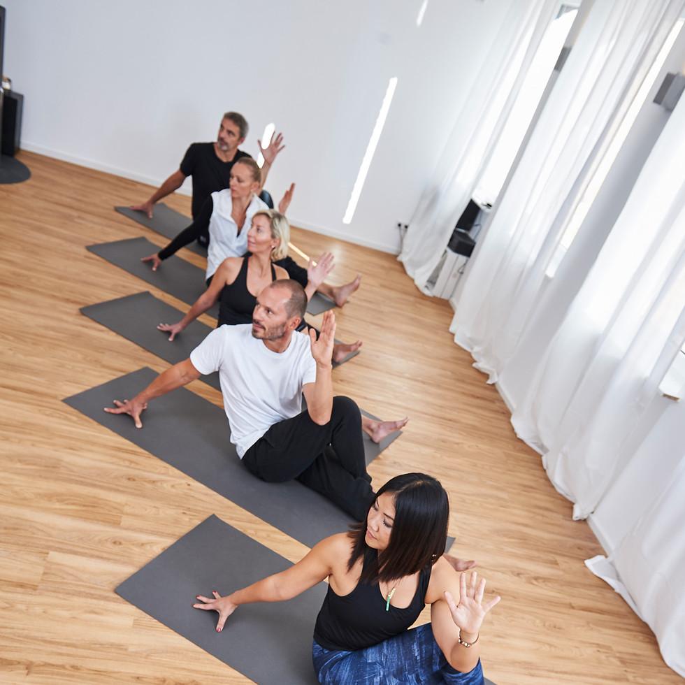 Yoga class at CrazyGanesha