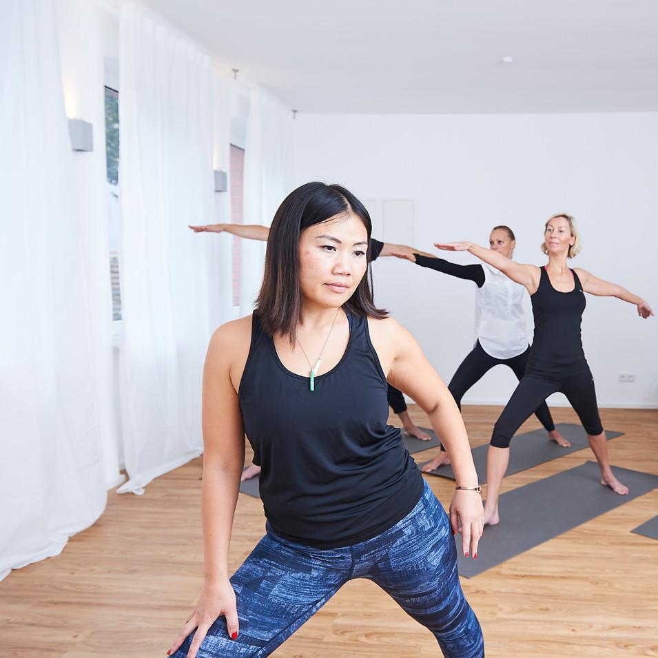 Yoga teacher Hai