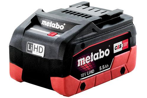 BATTERIA METABO 18 V 5.5 AH LI-HD
