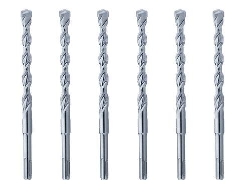 SERIE PUNTE SDS PLUS Ø 4-5-6-7-8-10mm x 50/110 mm di lunghezza
