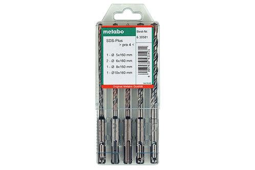 SERIE PUNTE SDS PLUS Ø 5-6-8-10 MM X 160 mm di lunghezza